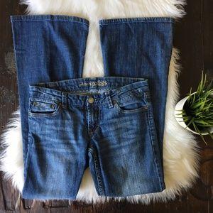 AMERICAN EAGLE AEO Flare Jeans Women's 6 EUC